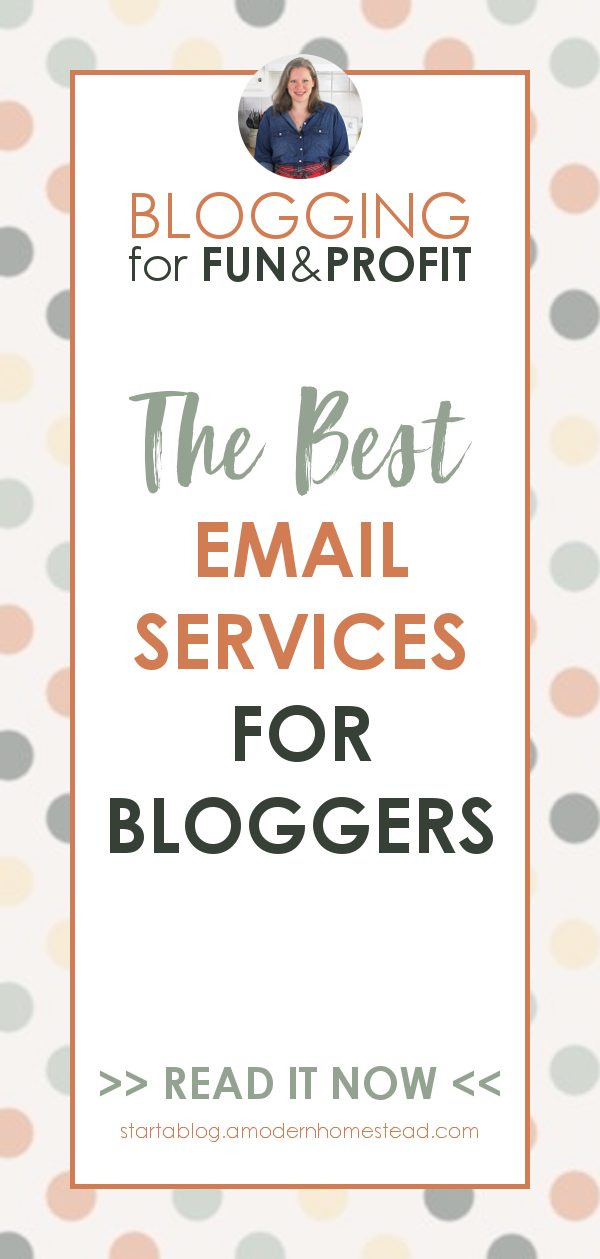 Best email services for bloggers