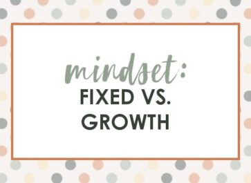 fixed versus growth mindset in blogging and business