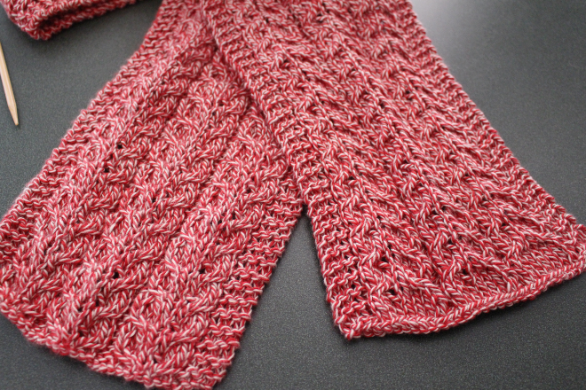Simple Cable Knit Scarf A Modern Homestead