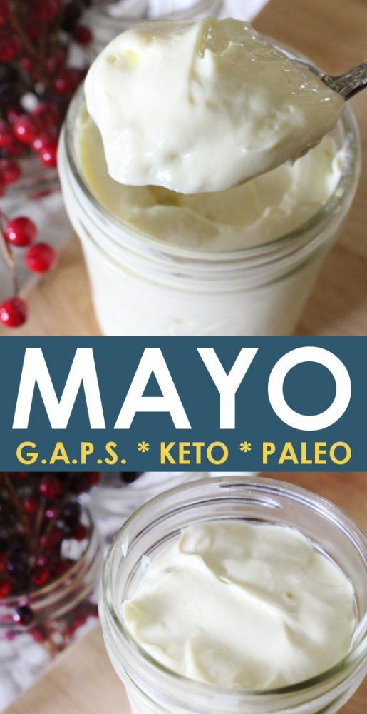 No olive oil, no avocado oil mayo recipe. Keto, GAPS diet, Paleo approved!