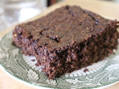 Gluten Free Squash Flour GAPS and Paleo Chocolate Cake